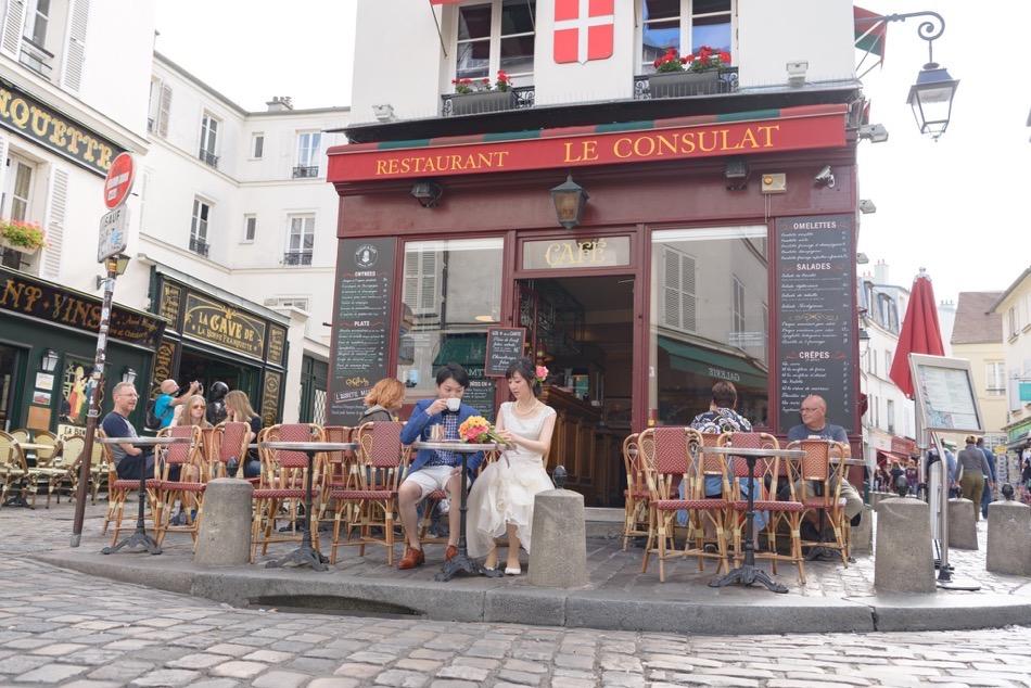 カフェ モンマルトル