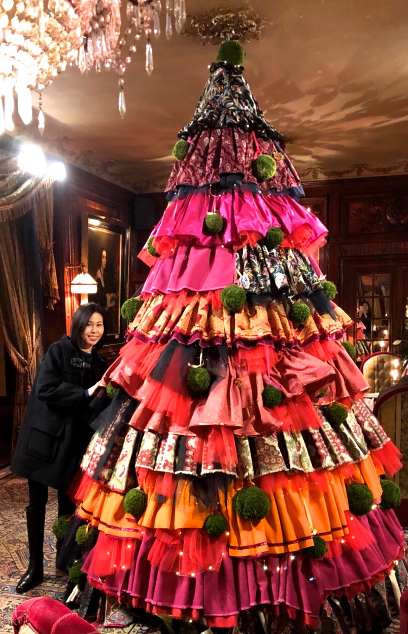 クリスマスツリー,パリ
