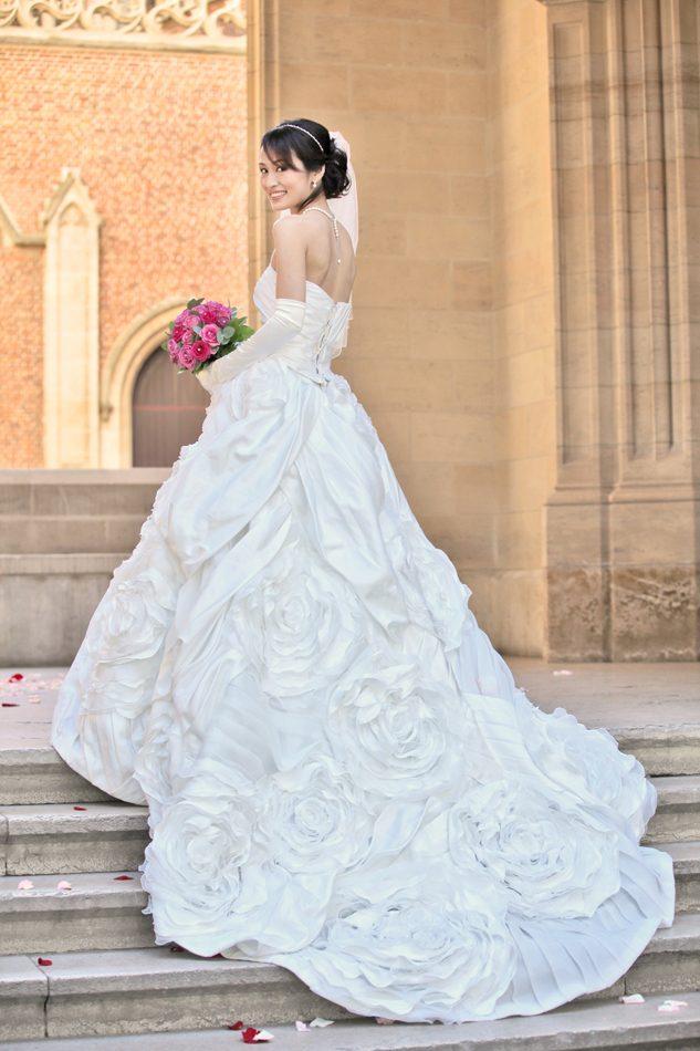 ウェディングドレス,アメリカンチャーチ