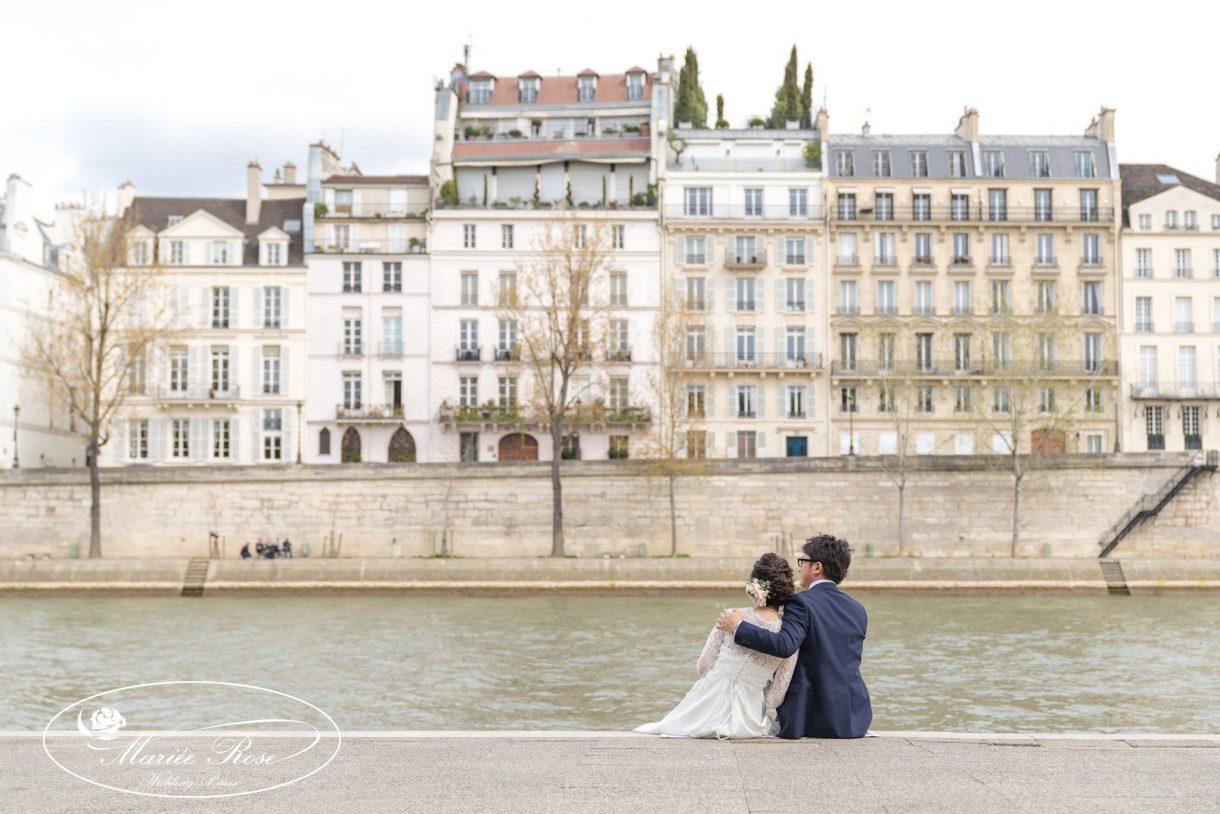 セーヌ川、パリ
