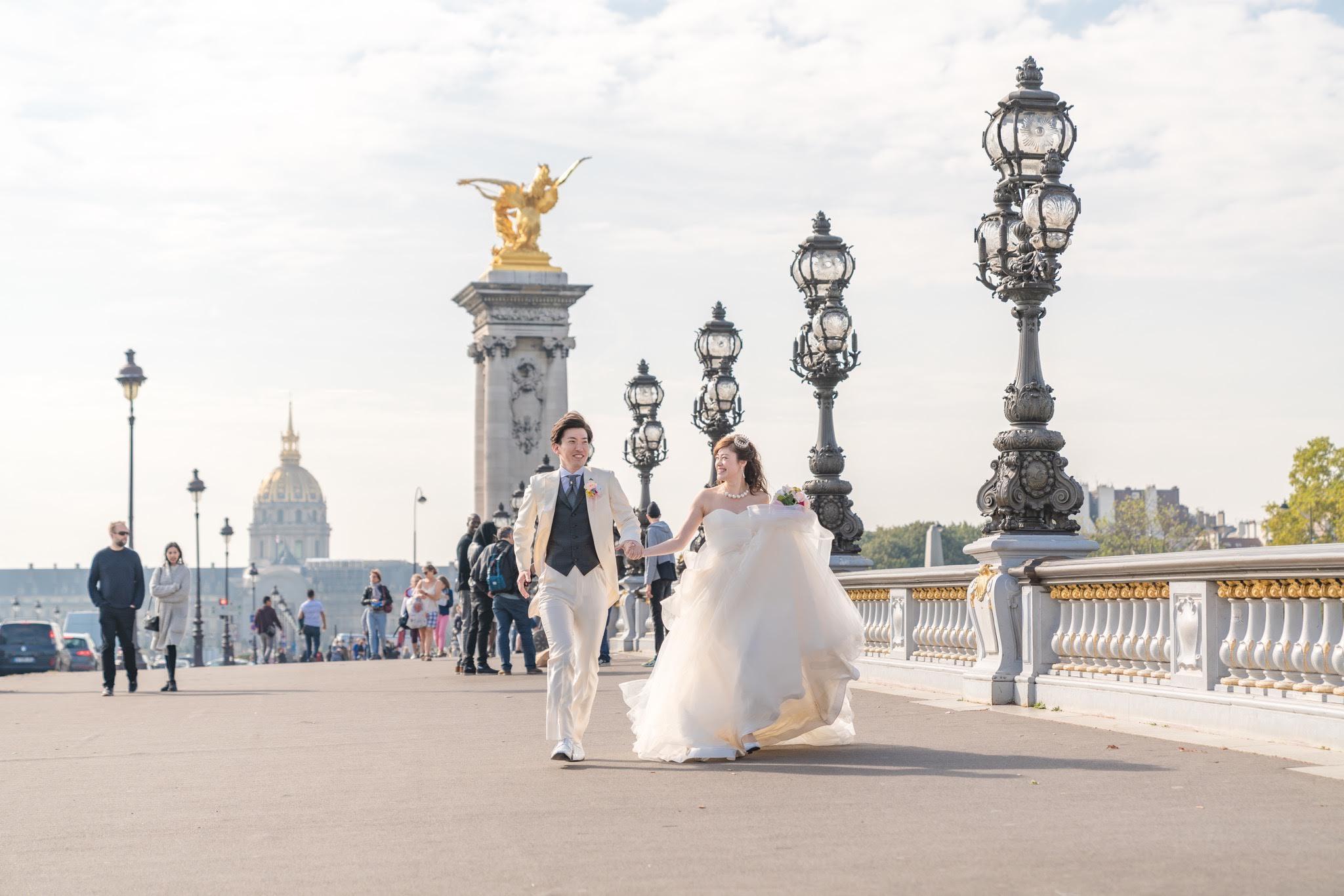 アレクサンドル三世橋,パリ