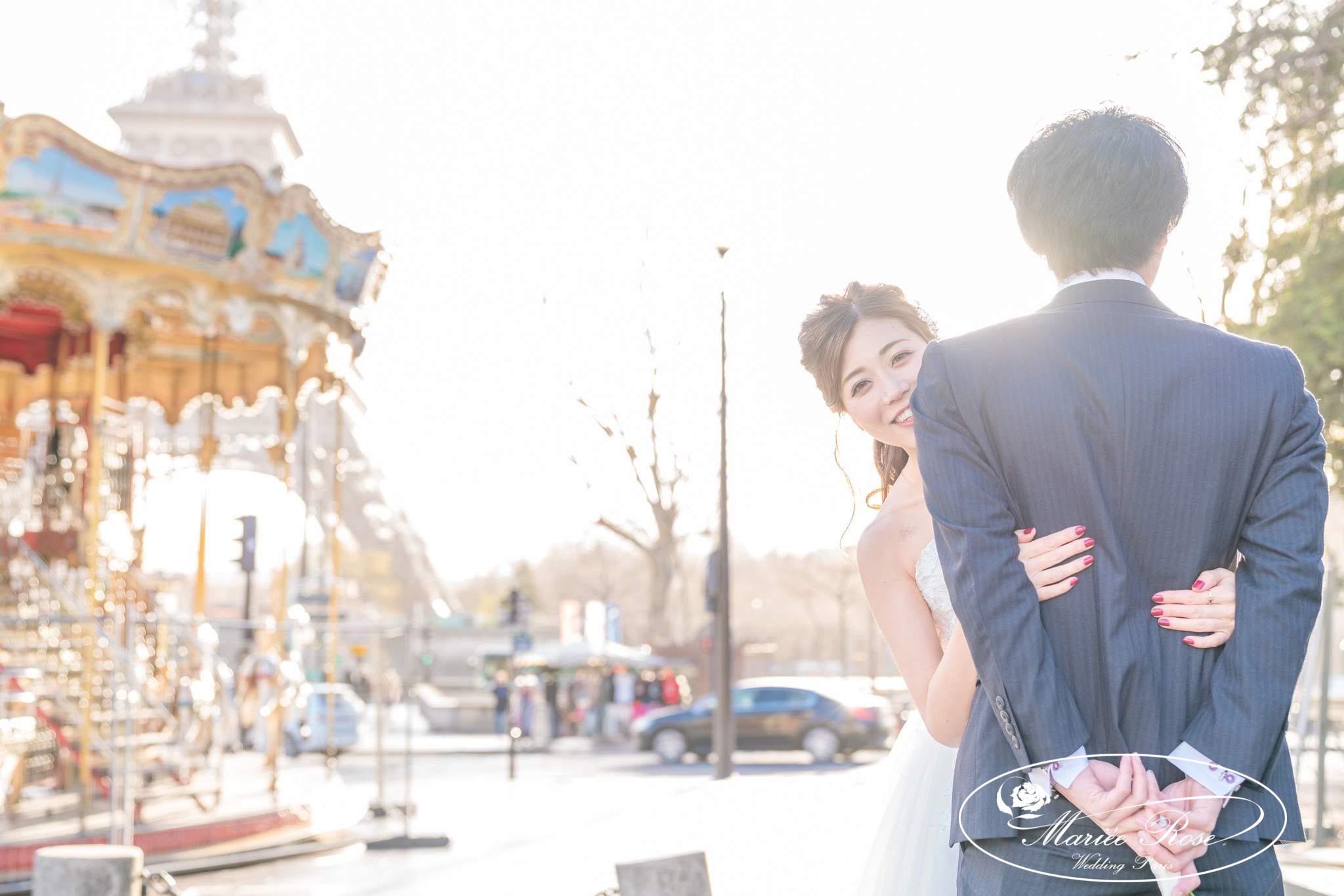 パリフォトウェディング,パリ前撮り,プレ花嫁