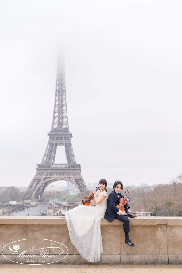 パリフォトウェディング,パリうぇでぃんぐ,パリ前撮り,エッフェル塔