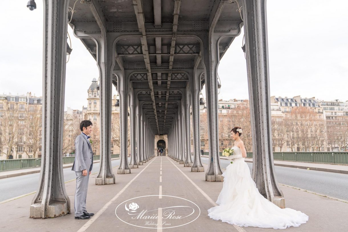 ビラケム橋,パリフォトウェディング,パリウェディング