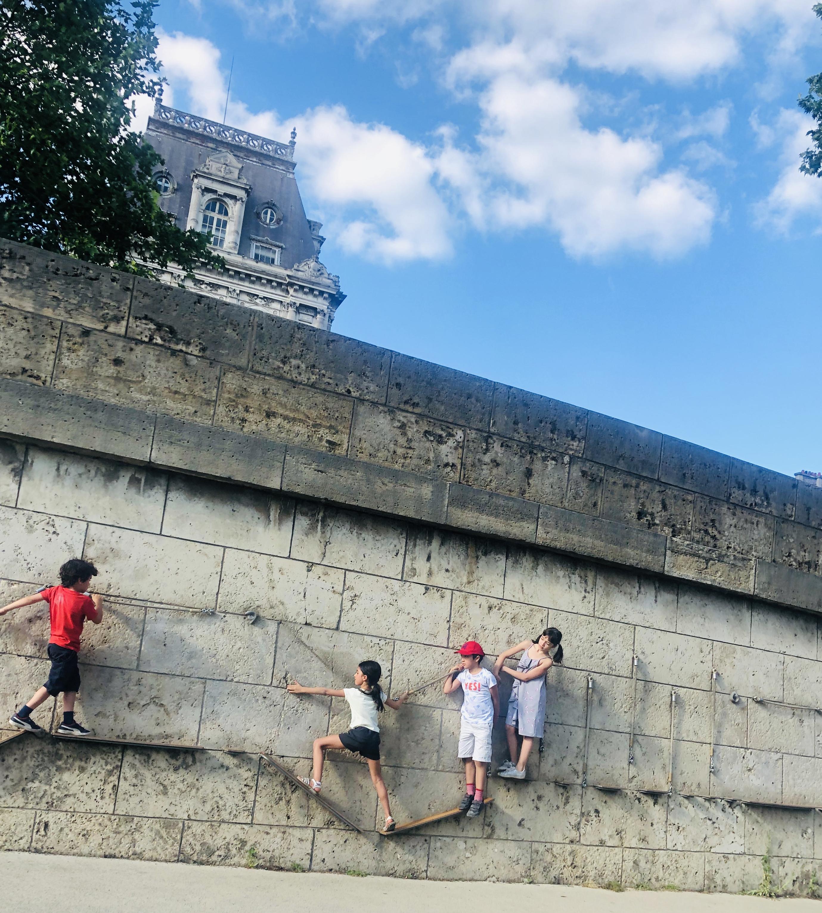 パリの子供達