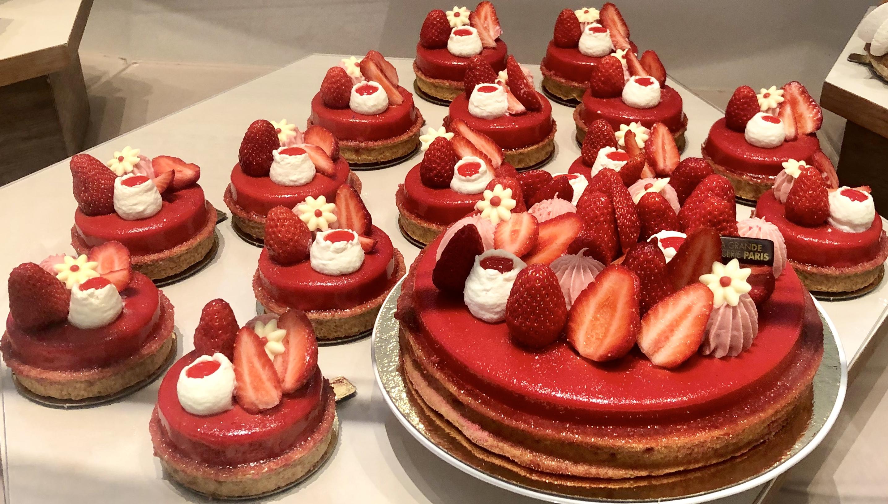 パリのパティスリー パリのケーキ