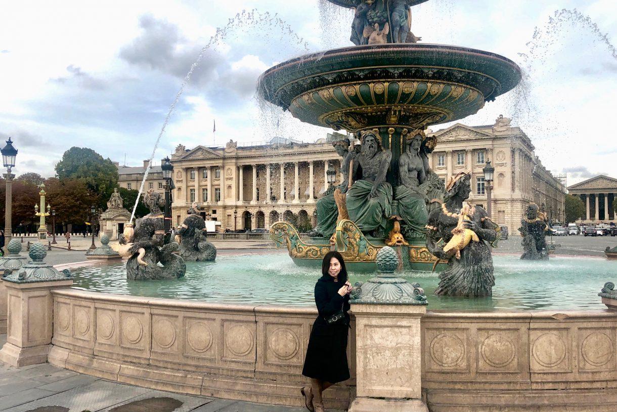コンコルド広場,パリ